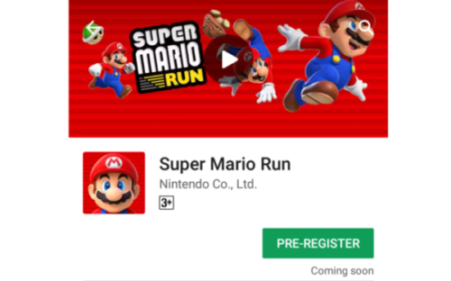 Super Mario Run To Release Soon For Android; Pre-registration Started - Updates Junction
