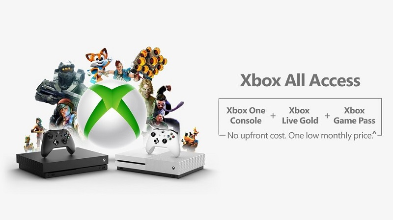 Xbox All Access is confirmed, and its store page is live